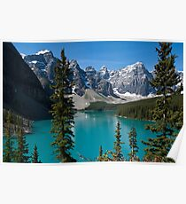 Banff National Park, Moraine Lake Poster