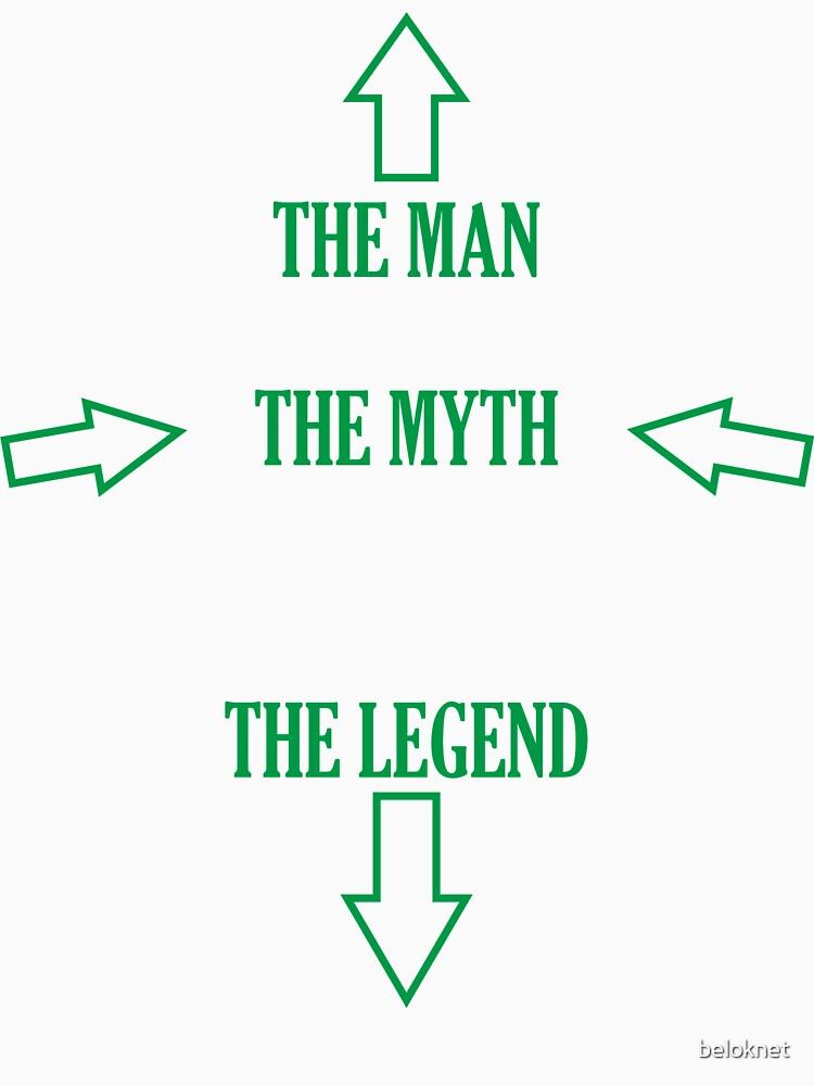 The Man, The Myth, The Legend by beloknet
