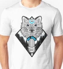Not Alone Podcast Wolf Unisex T-Shirt