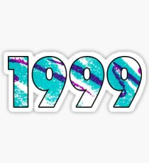 1999 Retro Sticker