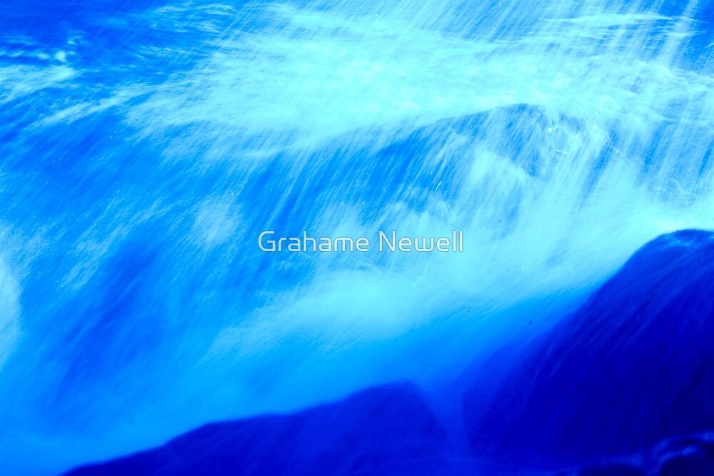 Seashore # 6 Splash by Grahame Newell