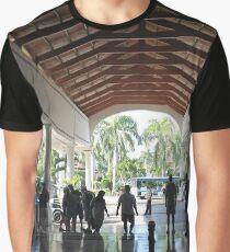 Hotel, lobby, mirrored floor Graphic T-Shirt
