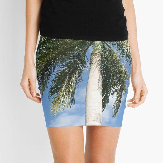 Big palm Mini Skirt