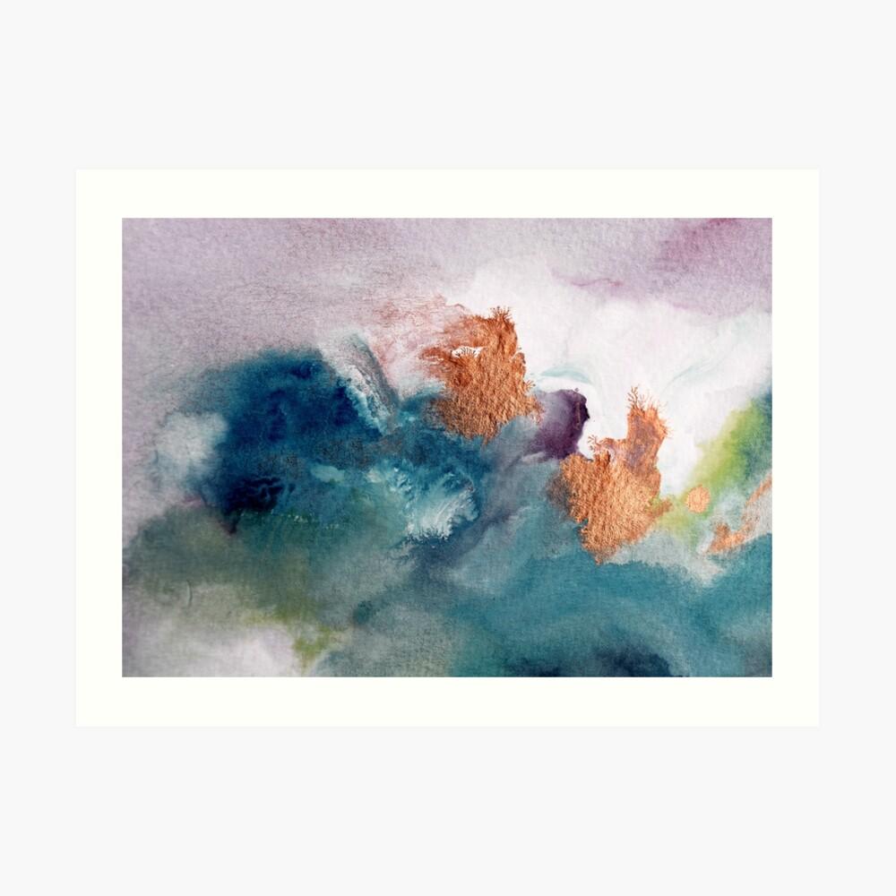 Abstract Birth Art Print