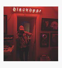Lámina fotográfica oso negro