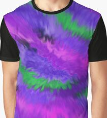 Purple Waves, Purple Waves Graphic T-Shirt
