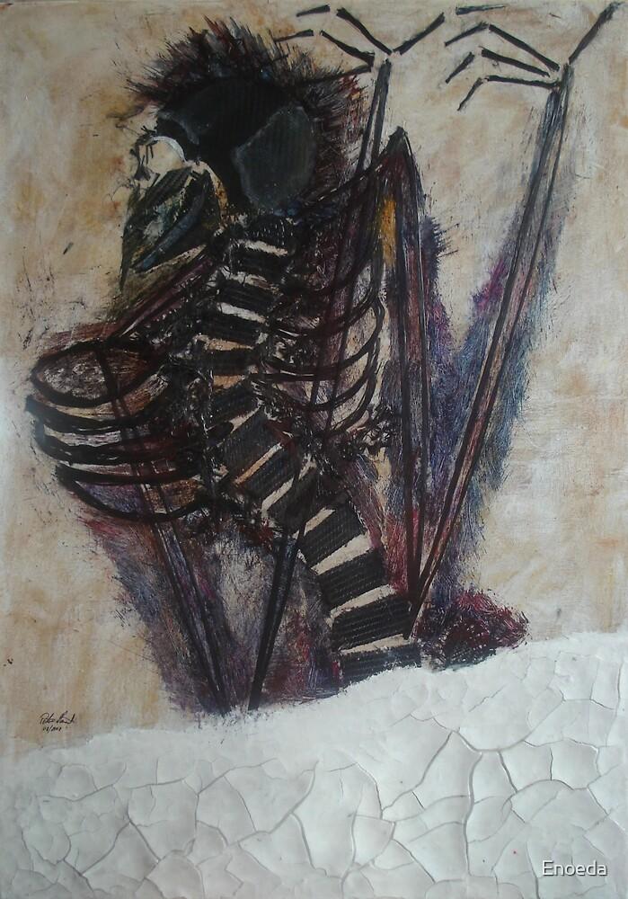 Fossil Bird Man by Enoeda
