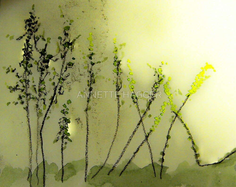 Young Saplings by ANNETTE HAGGER