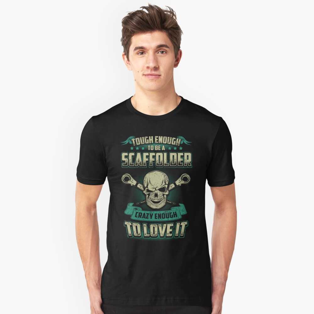 SCAFFOLDER LOVE TO IT Unisex T-Shirt Front