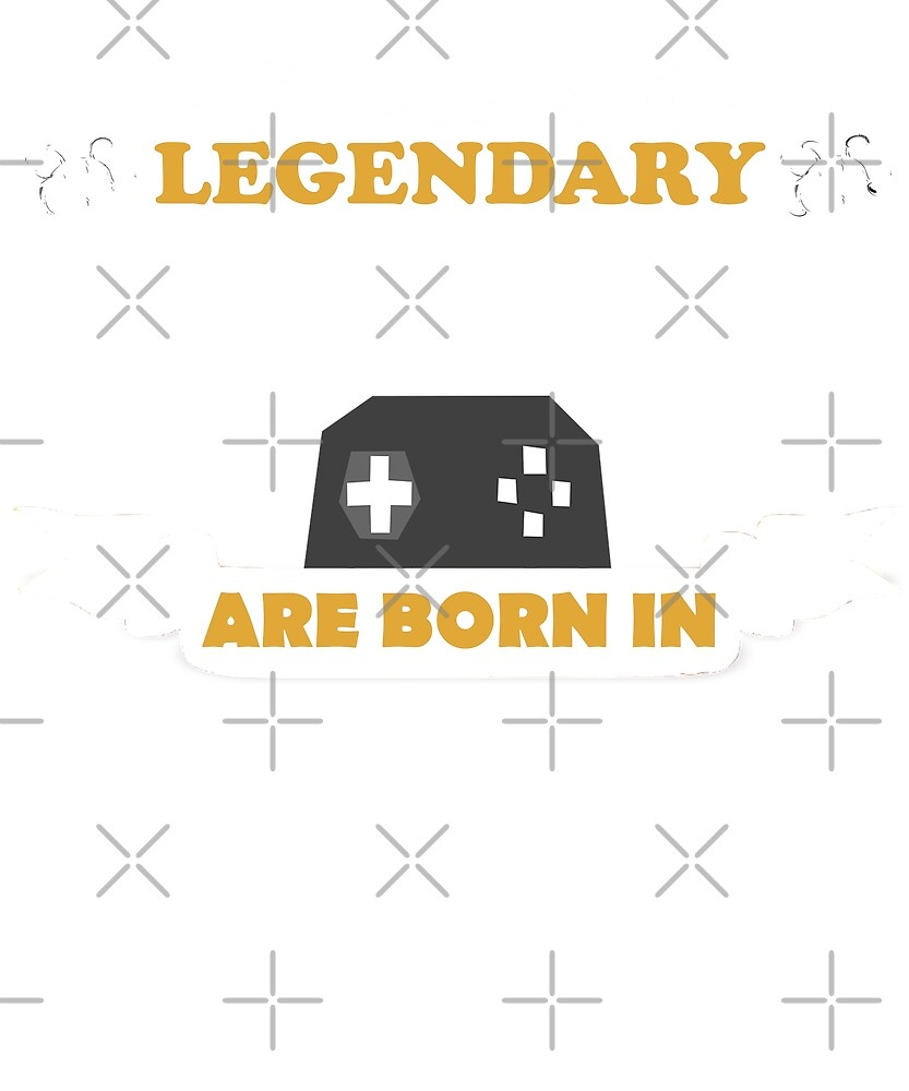 Legendary Gamers Are Born In February T-Shirt Birthday Gift by joeTakeover