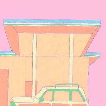 Retro Stationwagon by lmtweet