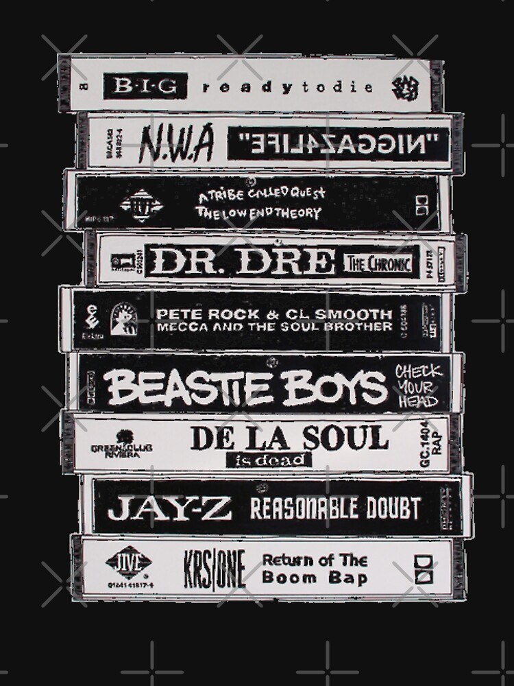 Hip Hop Tapes by surrealitee