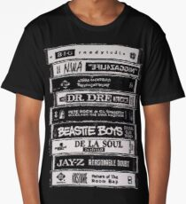 Hip Hop Tapes Long T-Shirt