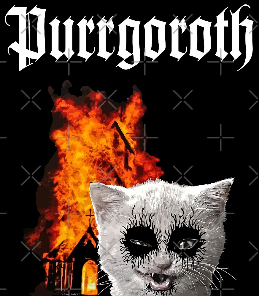 Purrgoroth by darklordpug