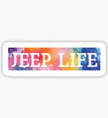 Jeep Life Sticker
