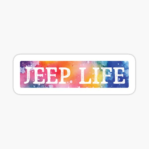 Jeep Life Sticker