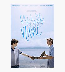 Call Me By Your Name Movie Photographic Print