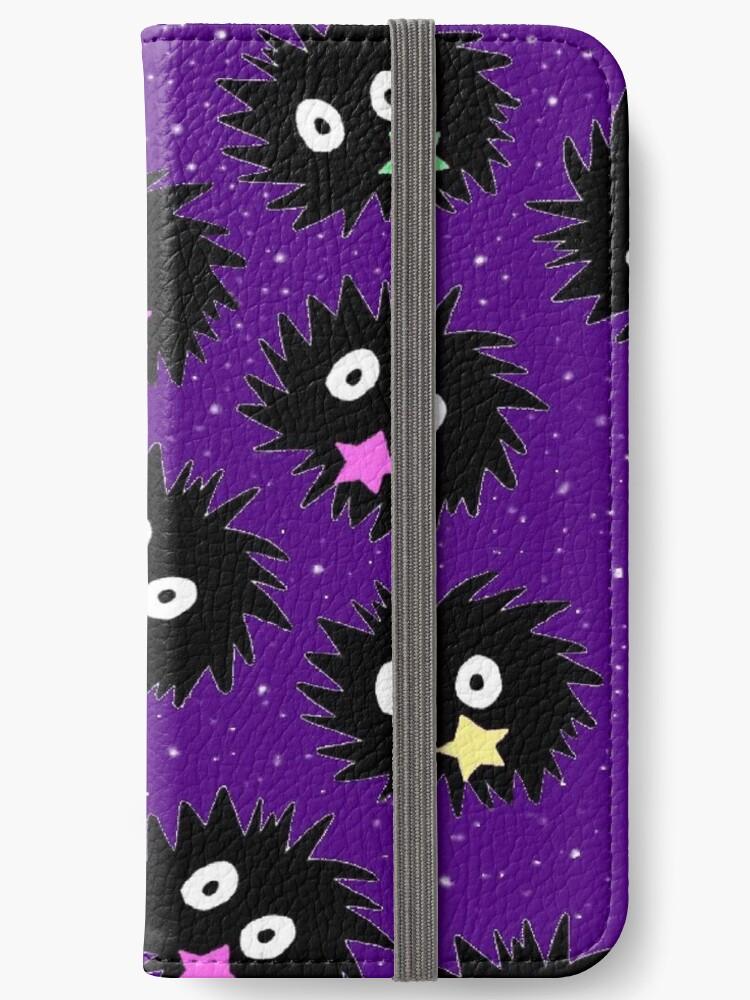 sootsprite wallet phone case by Kristen Hallas