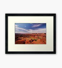 The Dead Horse Point State Park, Utah, USA Framed Print