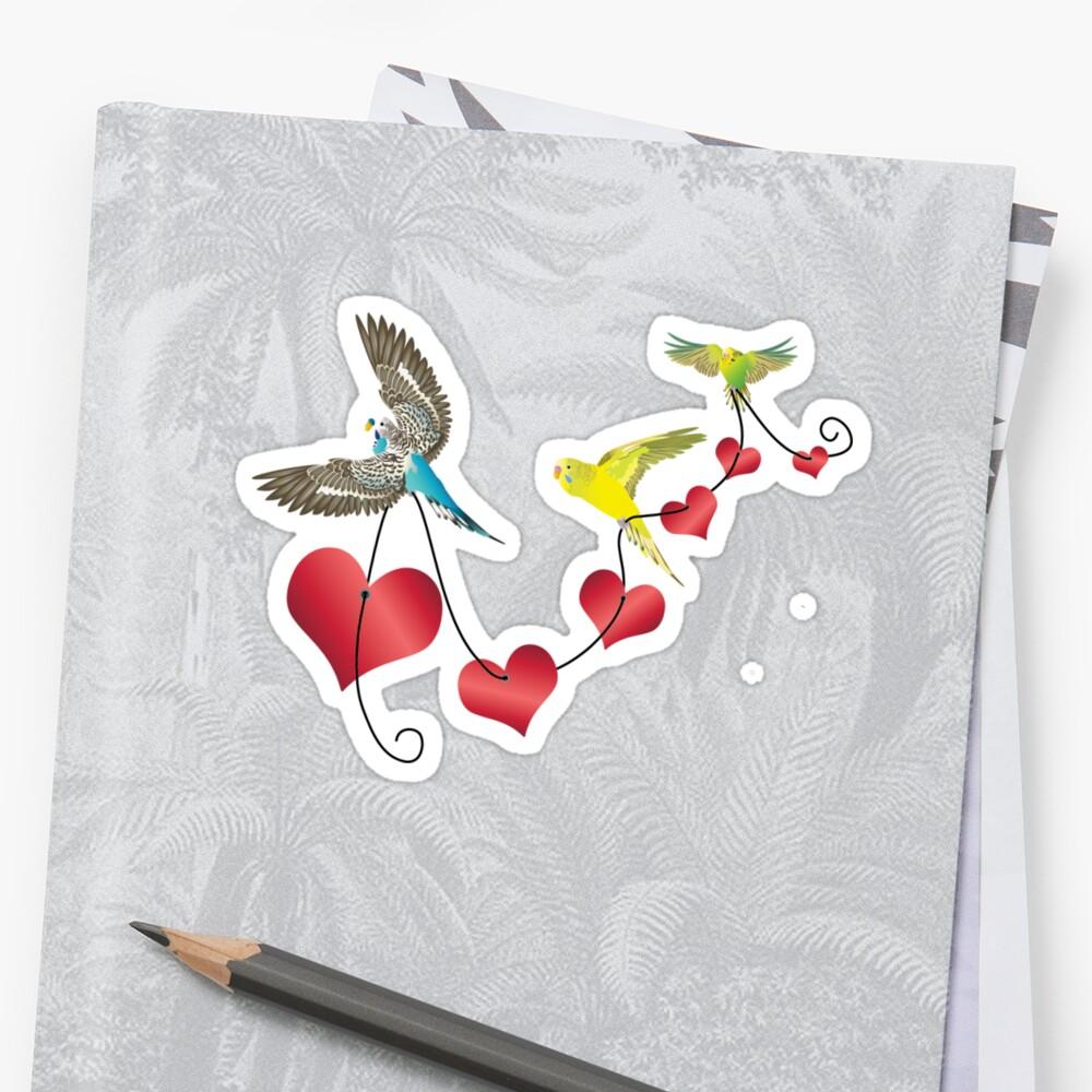 Bird Love by Charli Varboncoeur
