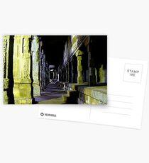 Madurai Temple at night Postcards
