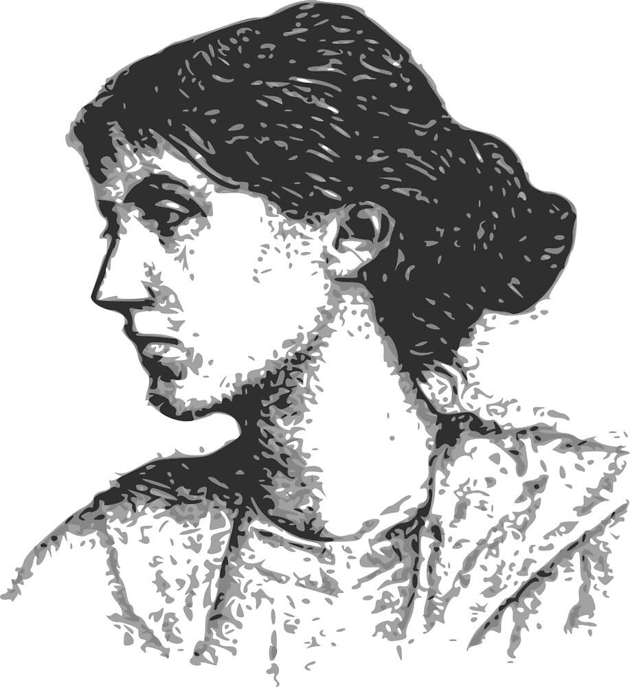 Virginia Woolf by Cygopat