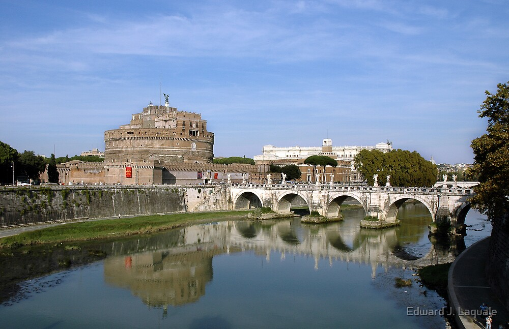 CASTEL SANT' ANGELO * REVISITED by Edward J. Laquale
