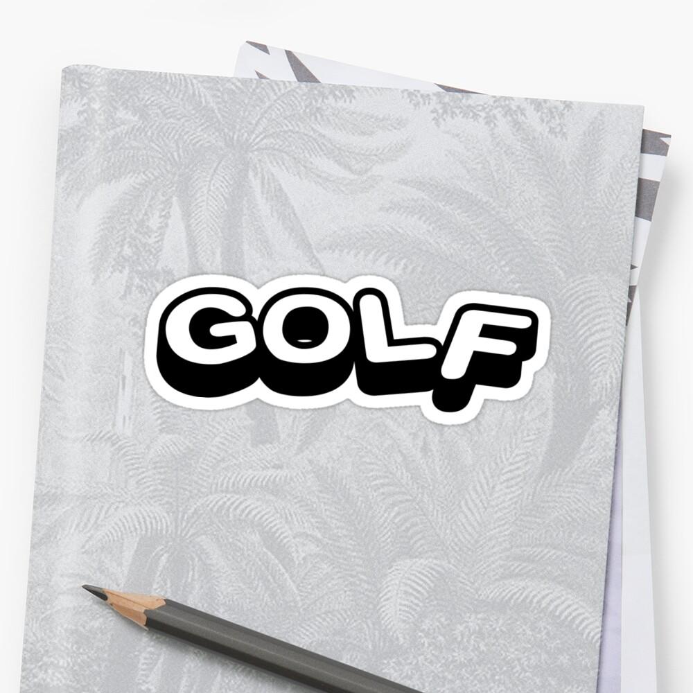 GOLF WANG LOGO | Tyler The Creator by PaulyH