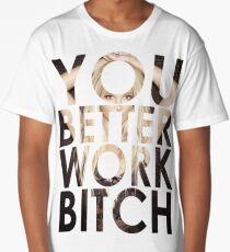 WORK B**CH Long T-Shirt
