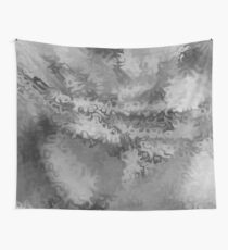 Blur of Black & White Wall Tapestry