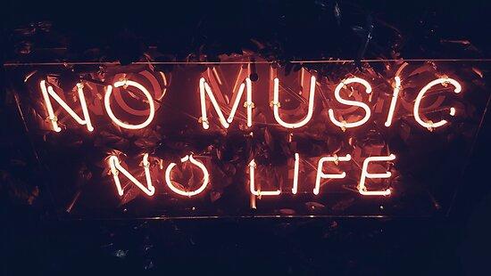 no music no life by Noah Jay Beller