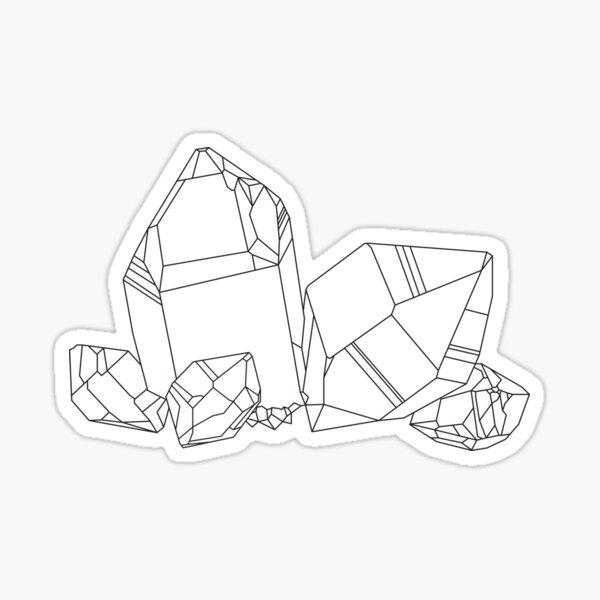 Herkimer Diamond Sticker