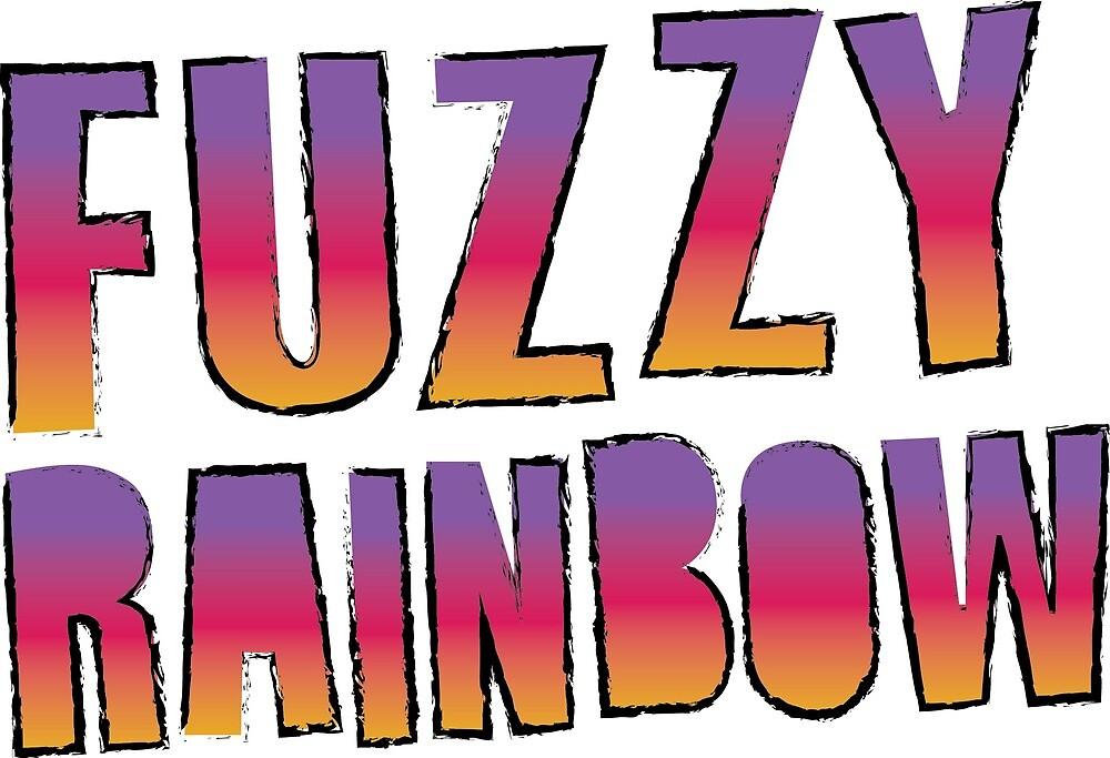 Fuzzy Rainbow logo (black border) by FuzzyRainbow