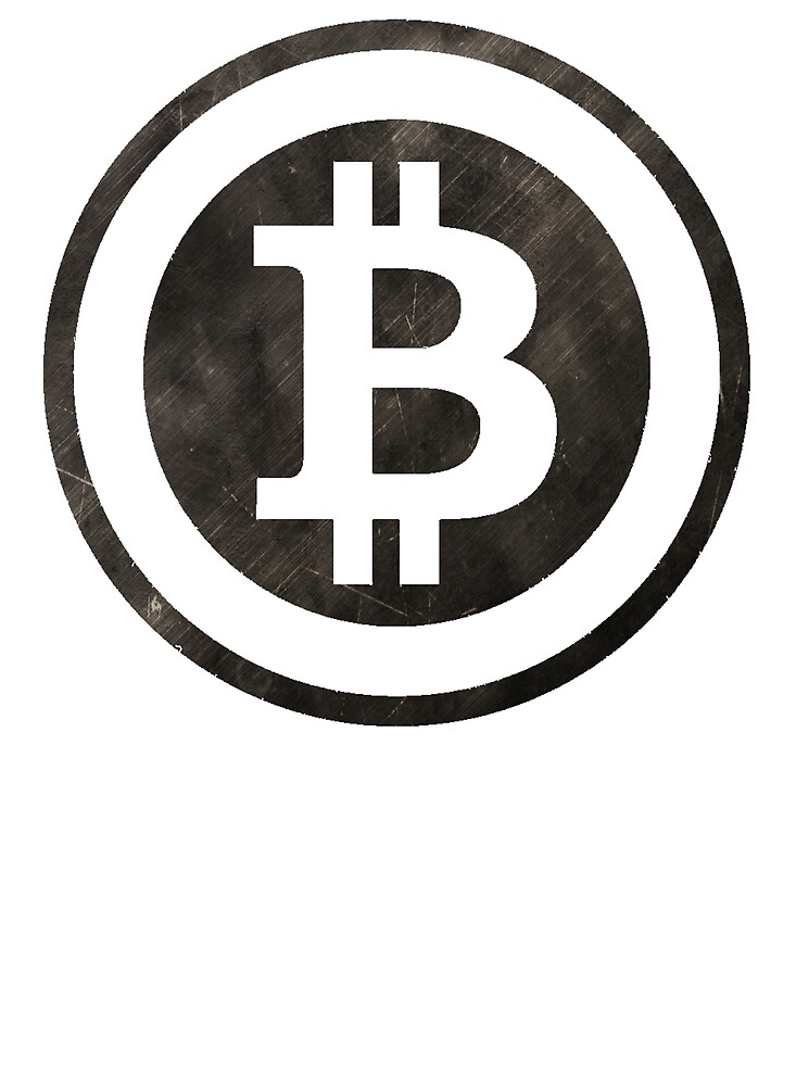 Vintage Bitcoin T-shirt For Crypto Currency Traders by maxhater
