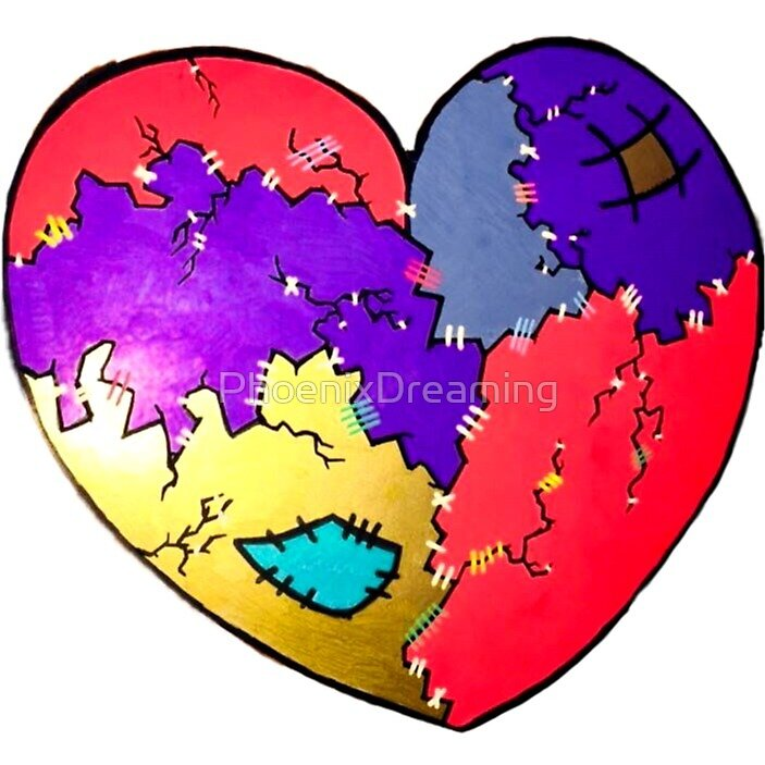 Patchwork Heart by PhoenixDreaming