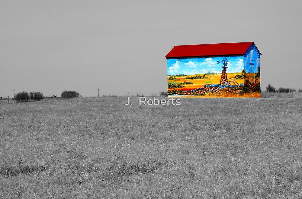 Southwest Graffiti by J.  Roberts