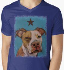 American Pit Bull Men's V-Neck T-Shirt