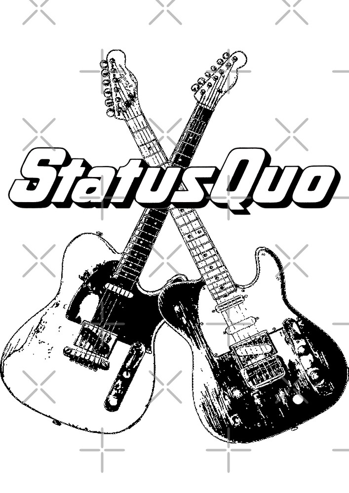 Crossed Guitars by Traillblazer84