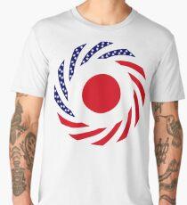 Japanese American Multinational Patriot Flag Series Men's Premium T-Shirt