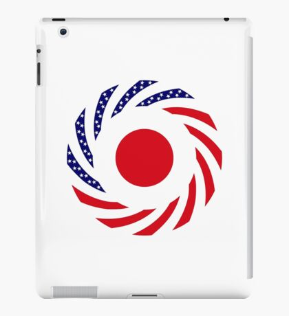 Japanese American Multinational Patriot Flag Series iPad Case/Skin