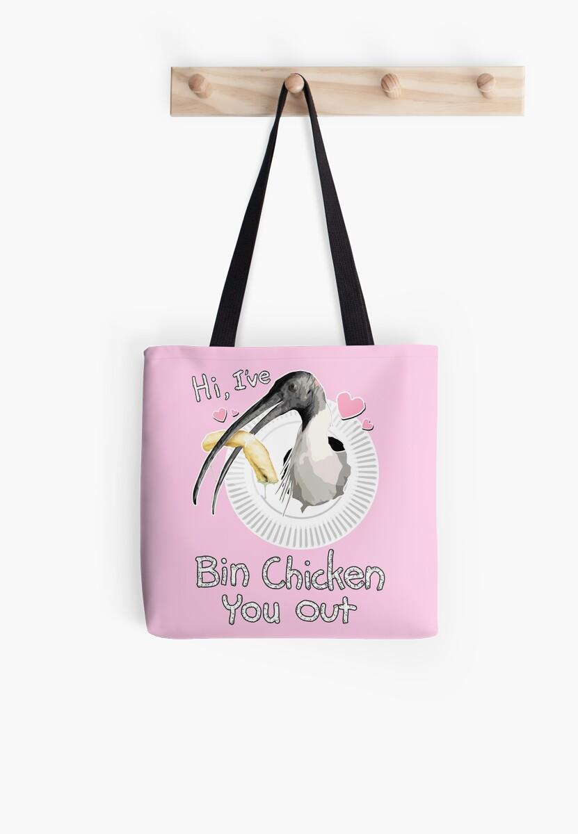 Bin Chicken You Out (pink) by MaratusFunk
