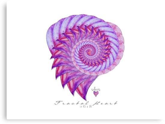 Fractal Heart 2618 by mandalafractal