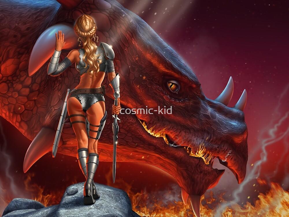 Dragons Lair by cosmic-kid