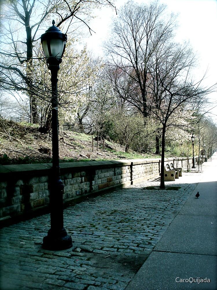 Lonely Walk by CaroQuijada