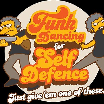 Funk Dancing For Self Defence by rockbottomau