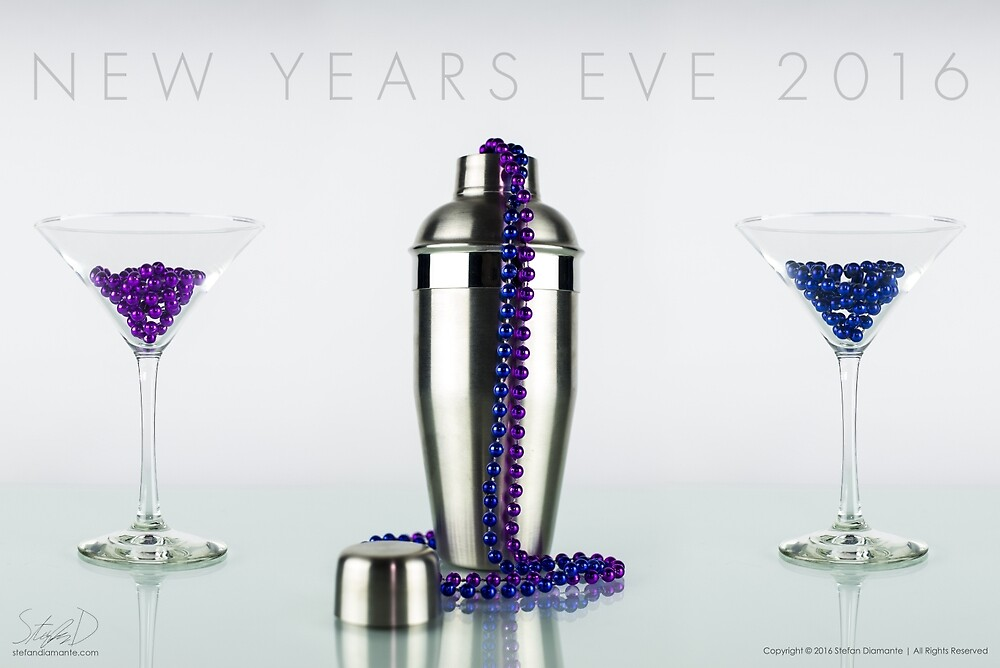 New Year's Eve 2016 by Stefan Diamante
