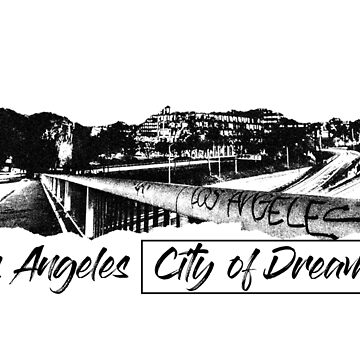 "Men's ""Los Angeles City of Dreamers"" Short-Sleeve T-Shirt by vincejimenez"