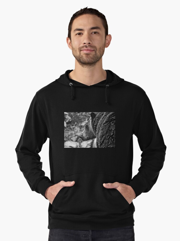 Grizzly Profile Lightweight Hoodie Front