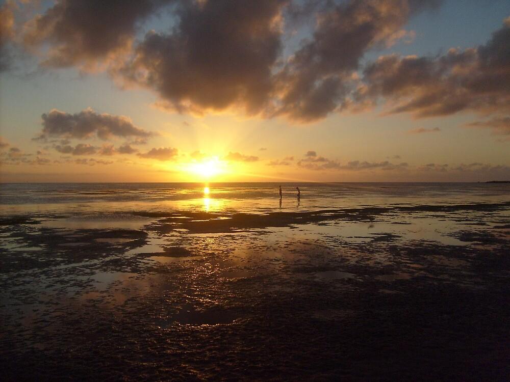 Sunset At The Bay 2 by Jennifer Suttle