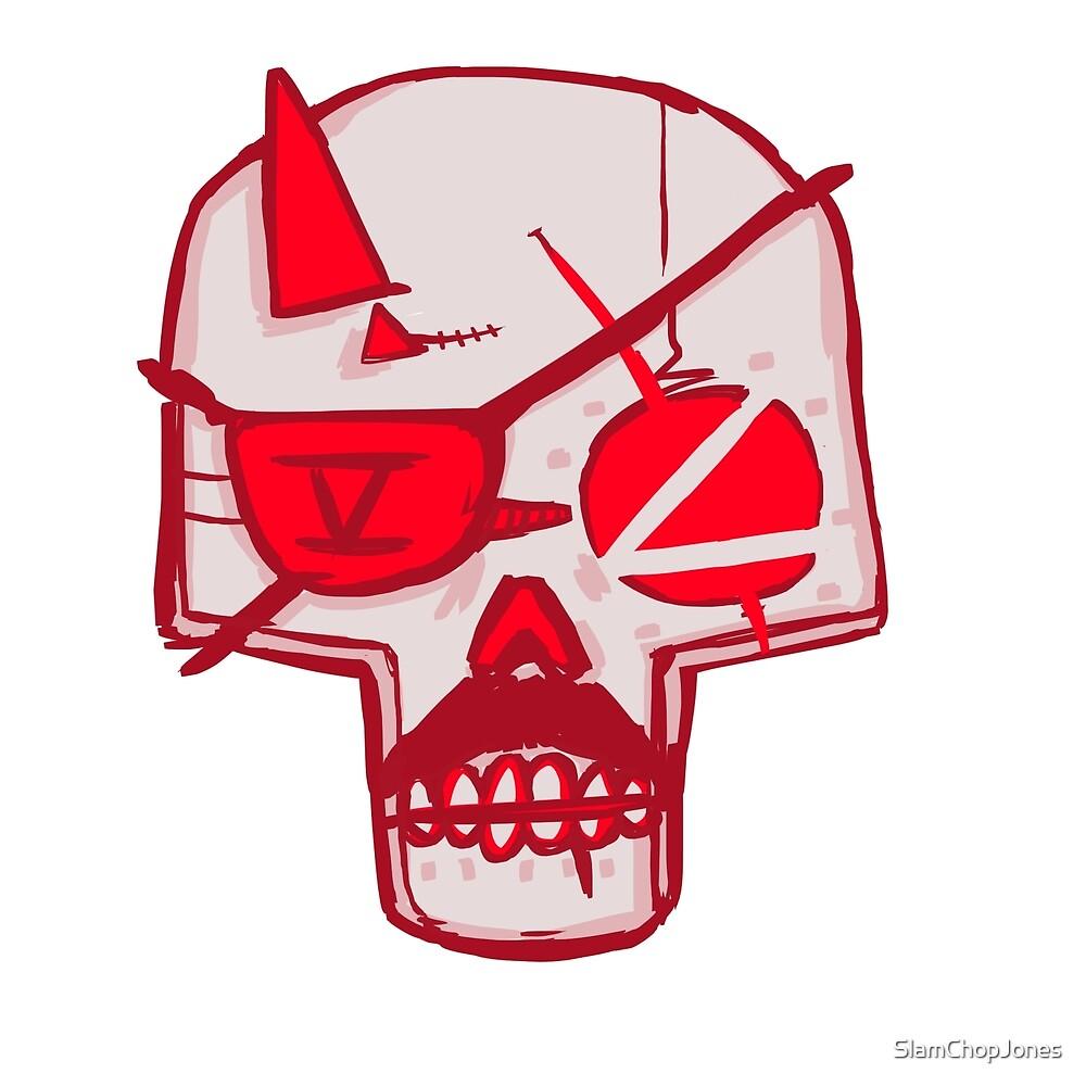 Big Boss Skull by SlamChopJones